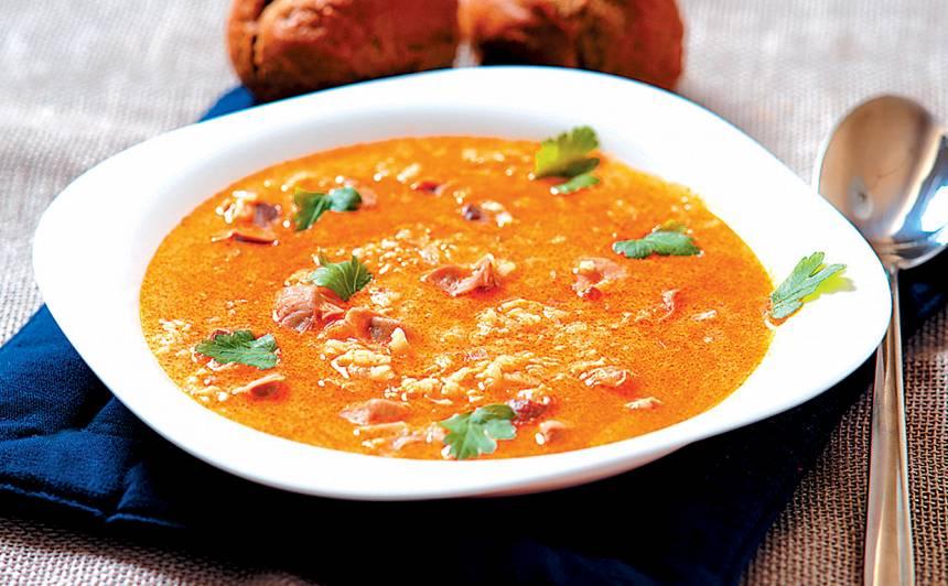 Zupa ar vistu mādziņām recepte