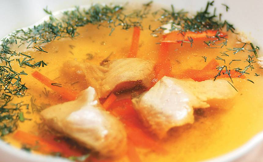 Karpas zupa recepte
