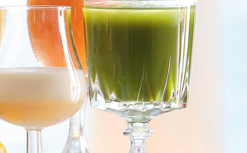 Enerģiskais džina - kalē kokteilis recepte