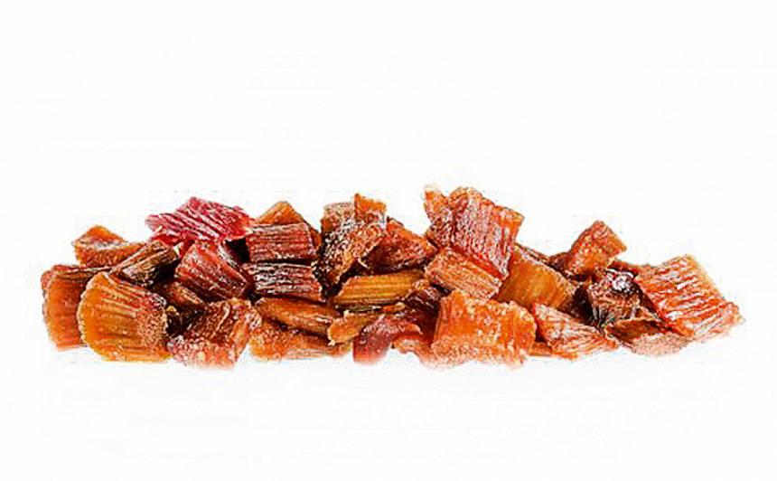 Žāvētas rabarberu sukādes recepte