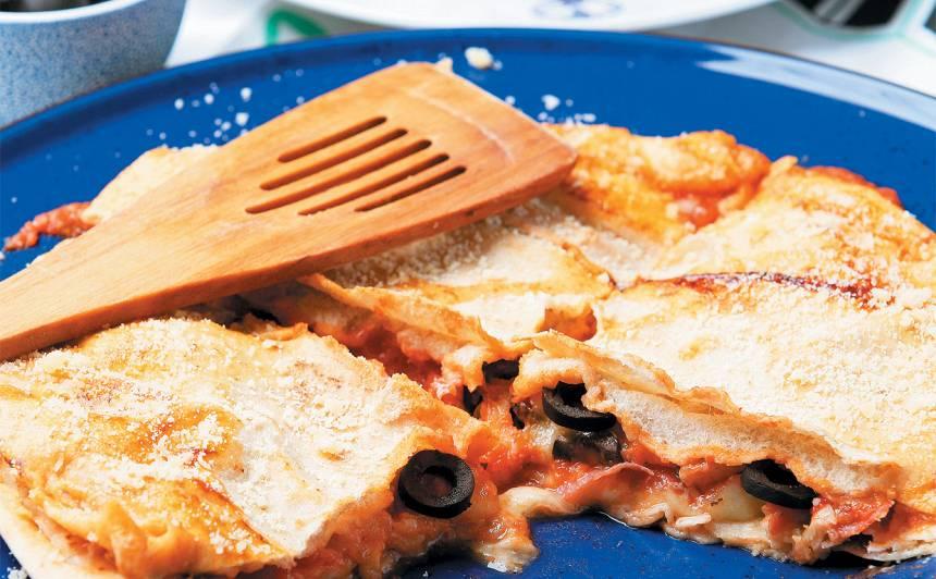 Mudīgā pannas pica
