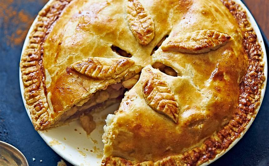 Amerikāņu ābolu pīrāgs recepte
