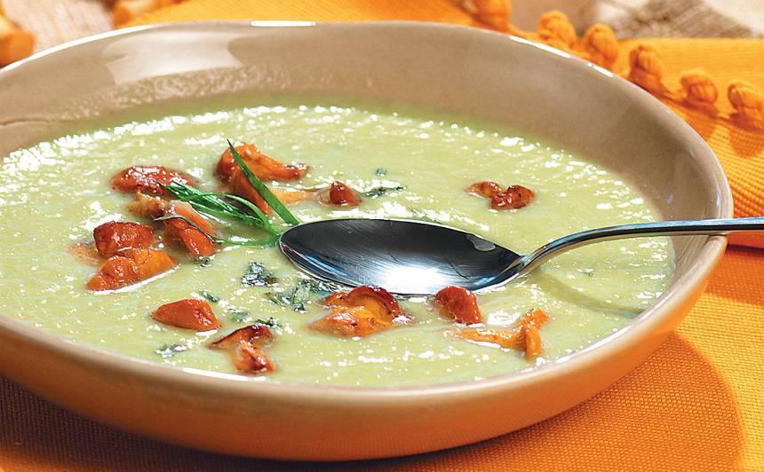 Gaileņu zupa receptes