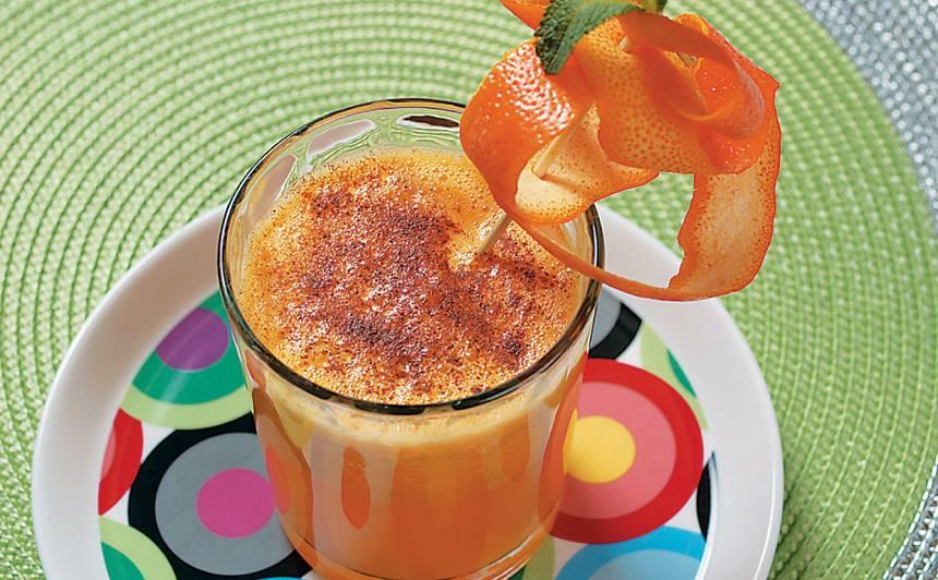 Ķirbju-apelsīnu dzēriens