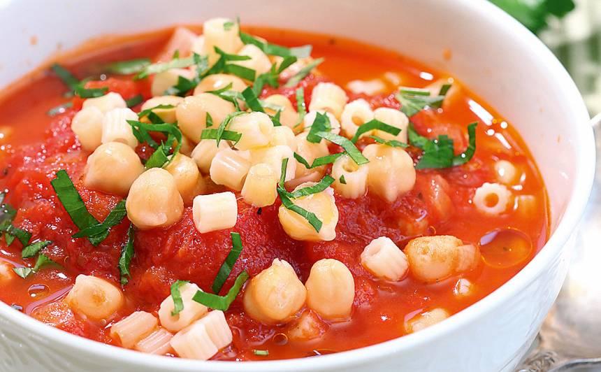 Turku zirņu zupa ar tomātiem recepte