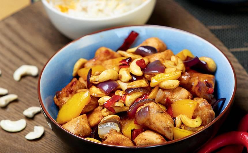 Cālis ar Indijas riekstiem recepte