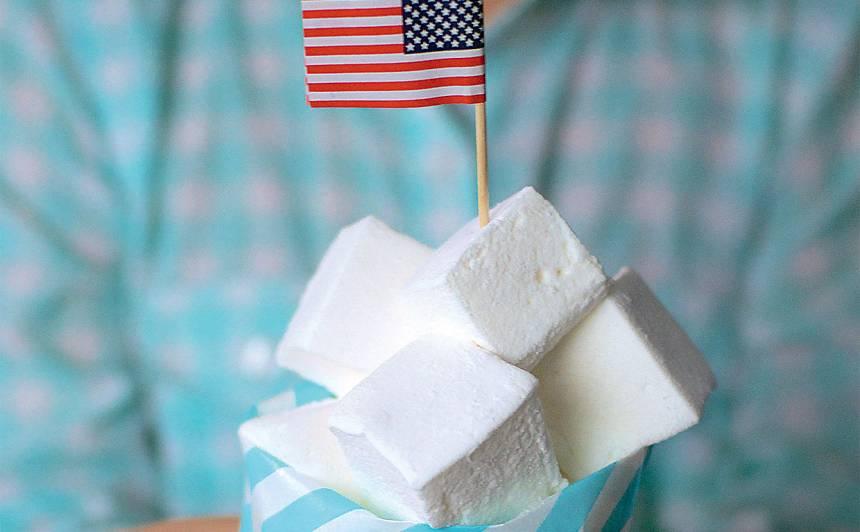 Amerikāņu maršmalovs (marshmallows)
