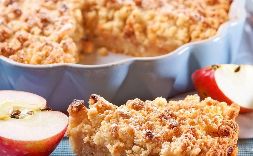 Ābolu drupaču kūka receptes