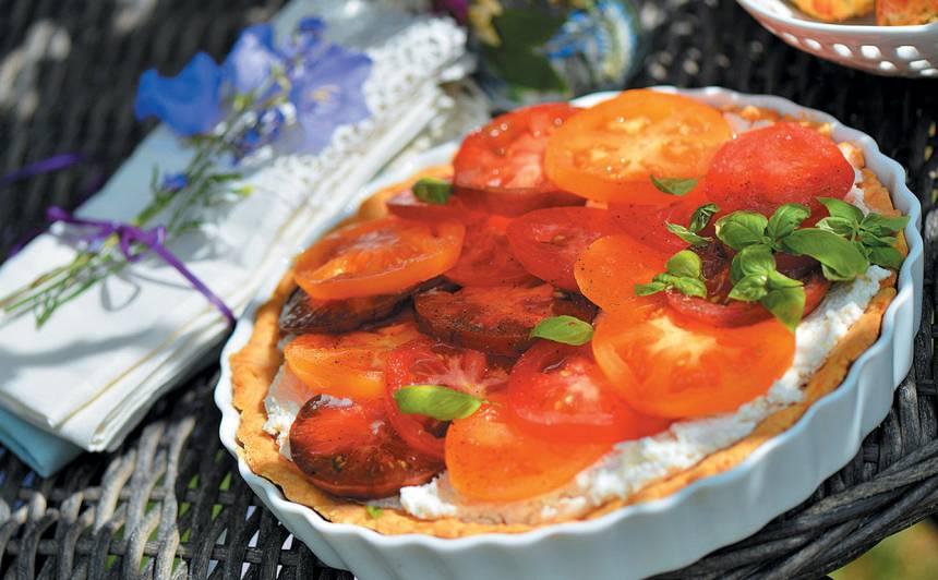 Svaigo tomātu tortīte