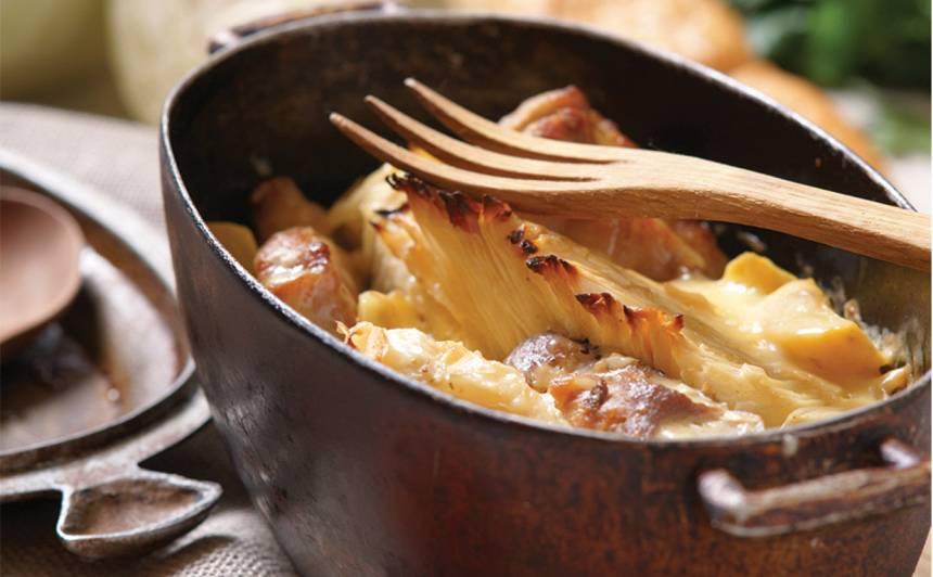 Kāpostu un gaļas sacepums recepte