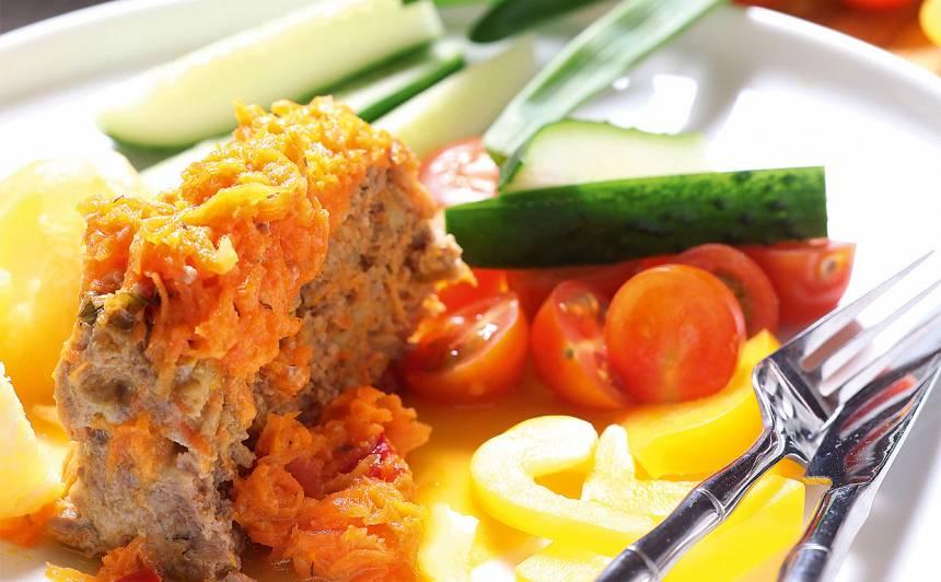 Viltīgs ruds zaķis dārzeņos recepte