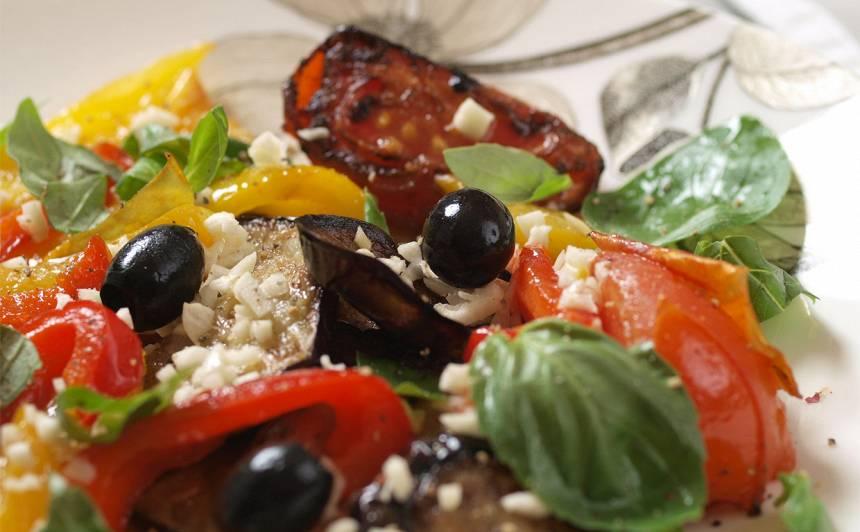 Siltie dārzeņu salāti recepte