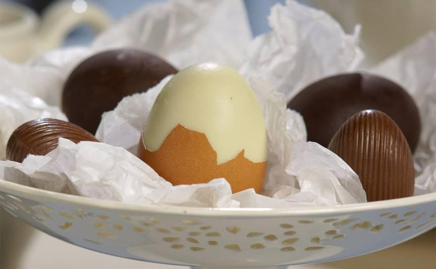 Šokolādes ola čaumaliņā recepte