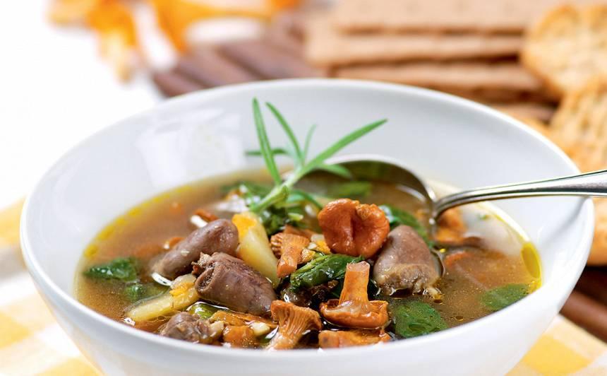 Vistu siržu zupa recepte