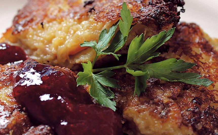 Rīvētu kartupeļu pankūkas recepte
