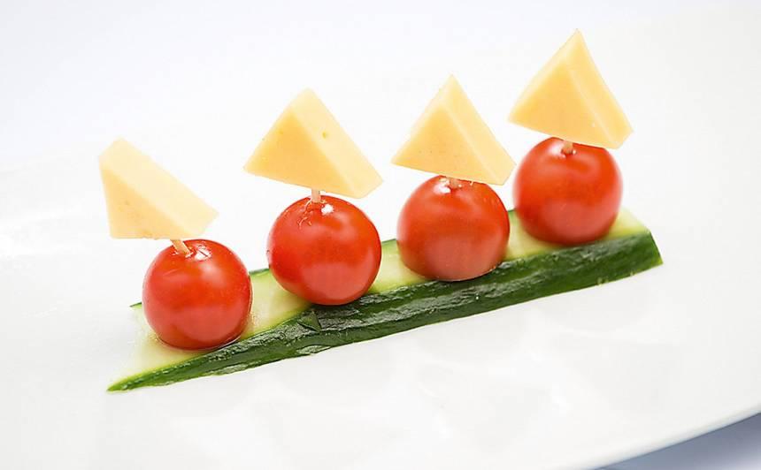 Dārzeņu un siera kuģis recepte