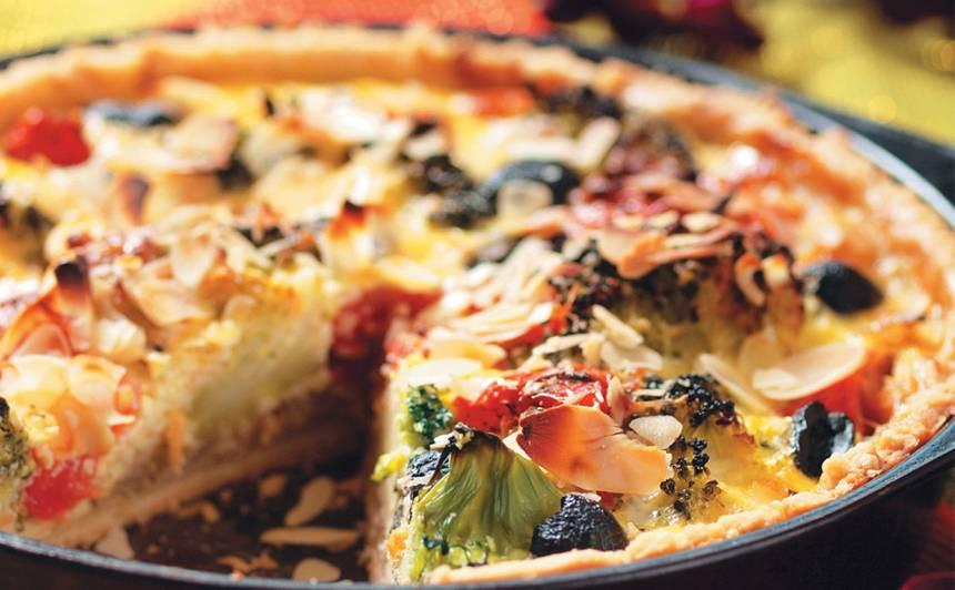 Pīrāgs ar brokoļiem recepte