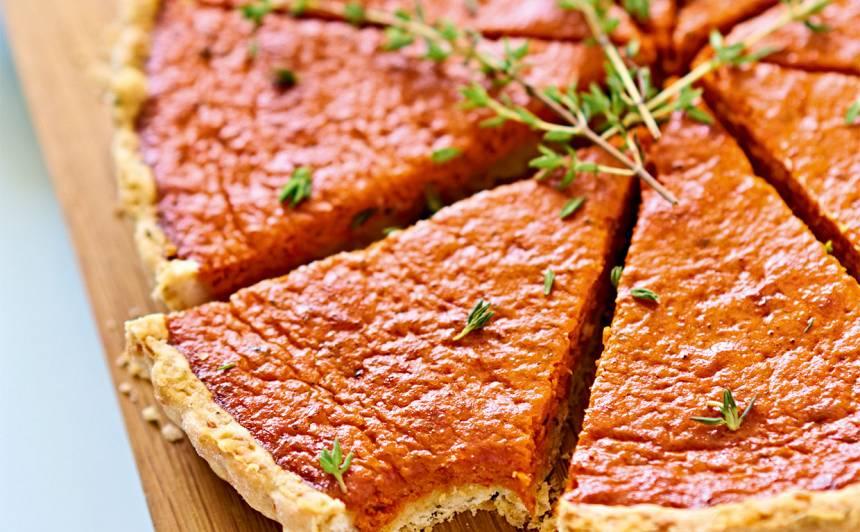 Papriku un tomātu tarte recepte