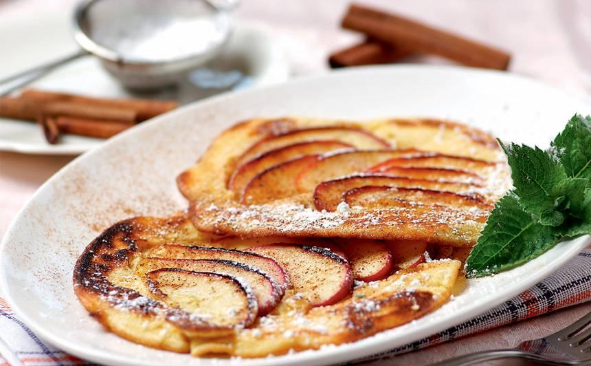 Pankūkas ar āboliem receptes