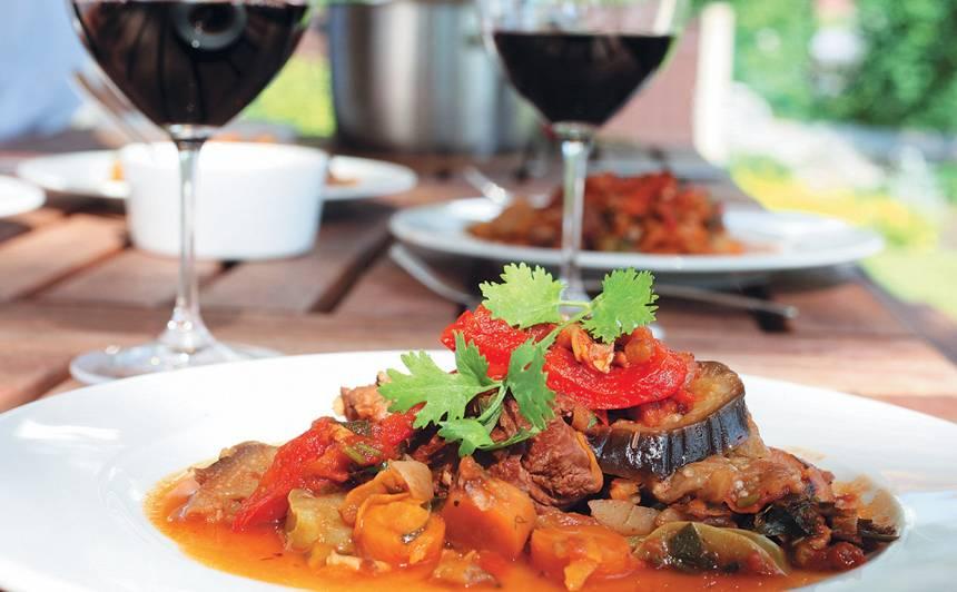 Jēra gaļas sautējums recepte