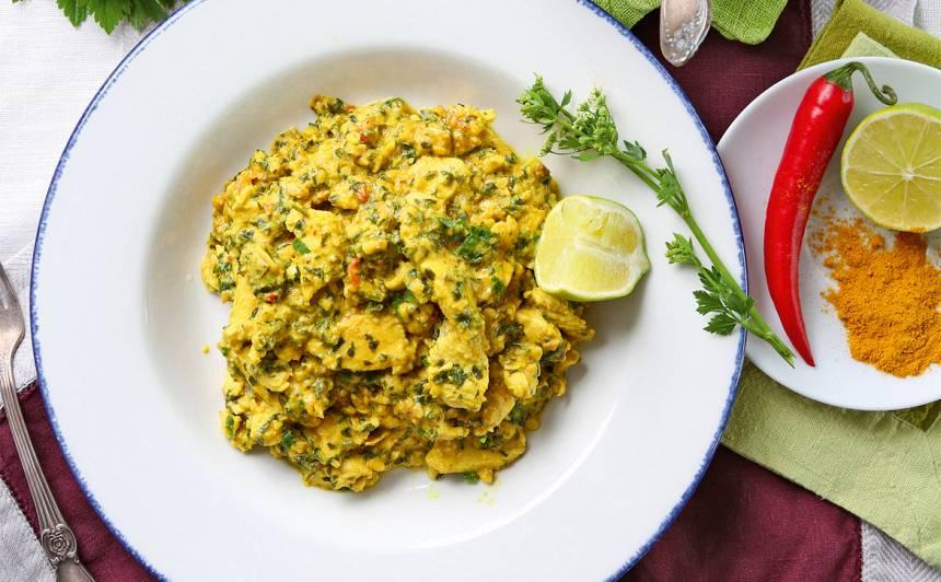 Vistas karijs ar Indijas riekstiem recepte