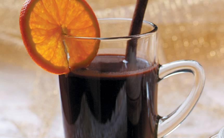 Kafijas un šokolādes karstvīns