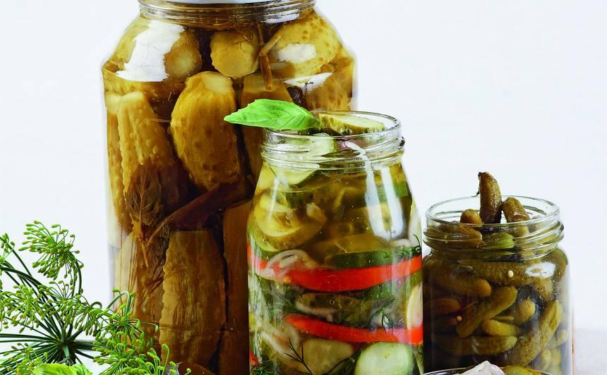 Marinēti gurķi recepte
