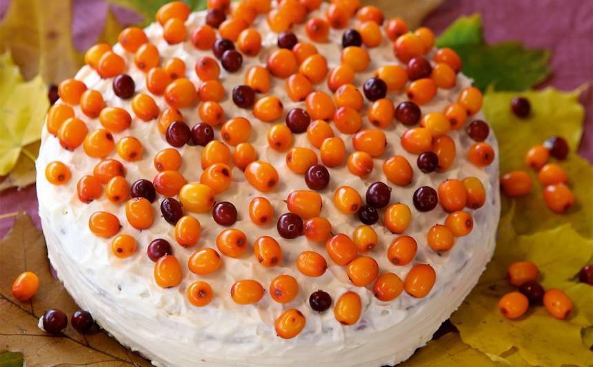 Biskvīta torte rudens  sapnis