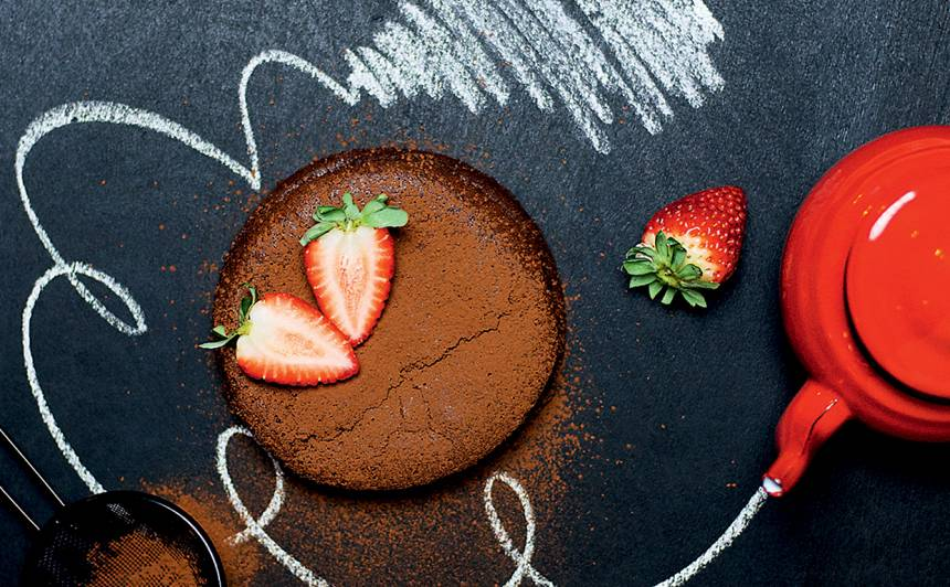 Šokolādes un banānu kūka