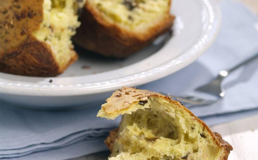 Sāļā biezpiena maize recepte