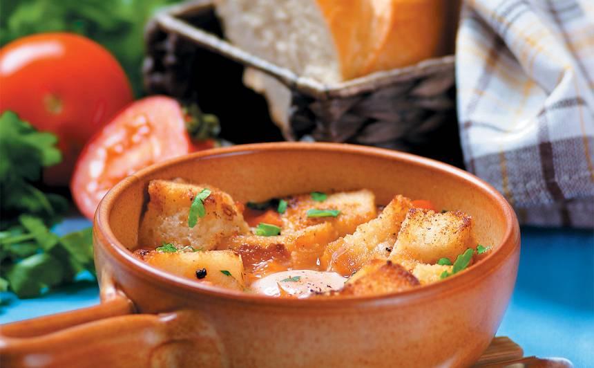 Ķiploku zupa ar olu recepte