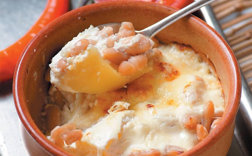 Kartupeļu un pupiņu sacepums recepte