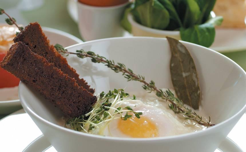 Krējumā vārītas olas recepte