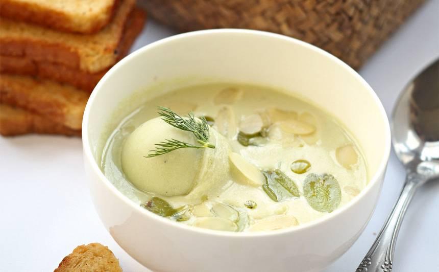 Bālā gaspačo zupa recepte