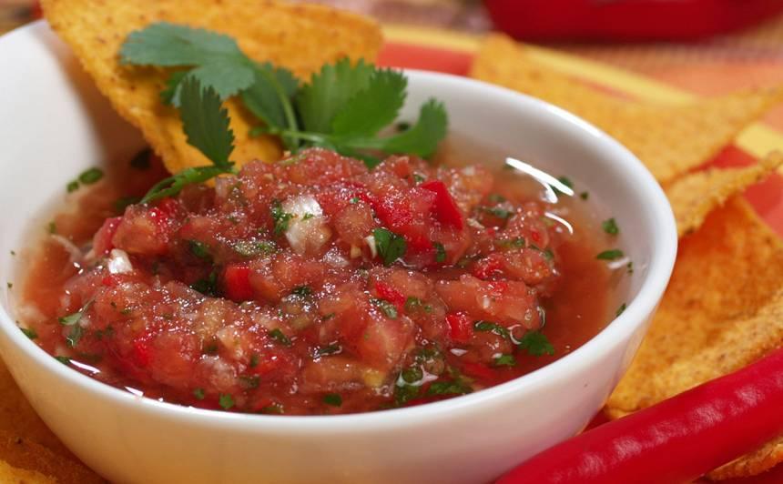 Meksikāņu tomātu mērce recepte