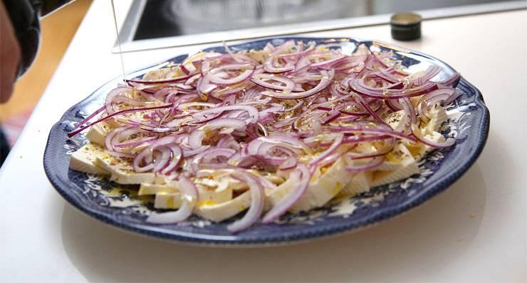 marinēts siers