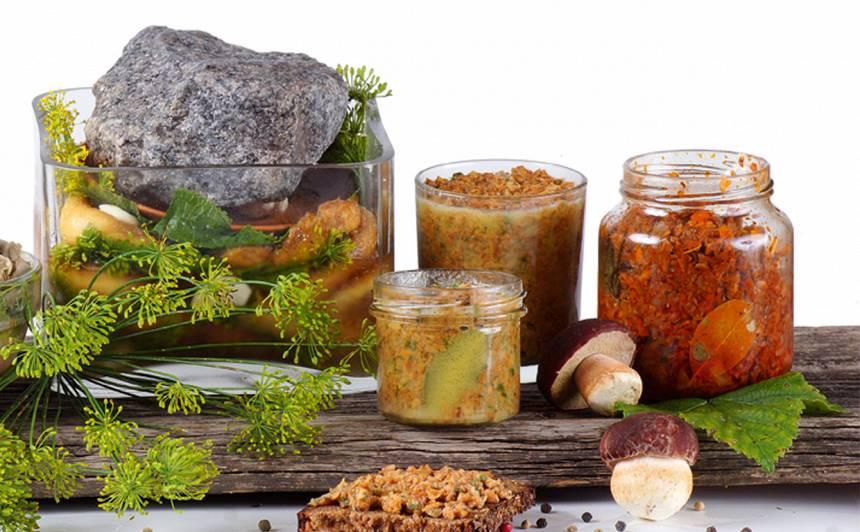 Kaltētas sēnes recepte