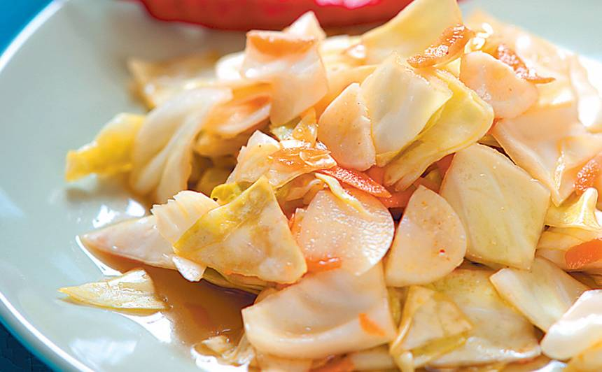 Asie kāpostu salāti recepte