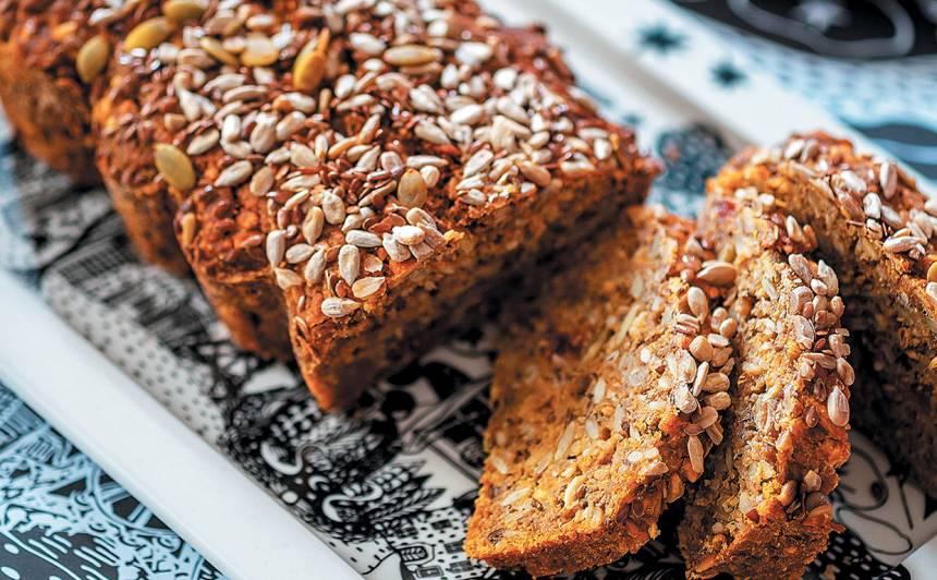 Linsēklu, kliju maize recepte