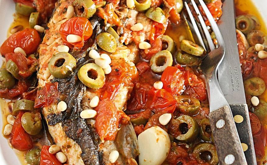Zivtiņa tomātos recepte