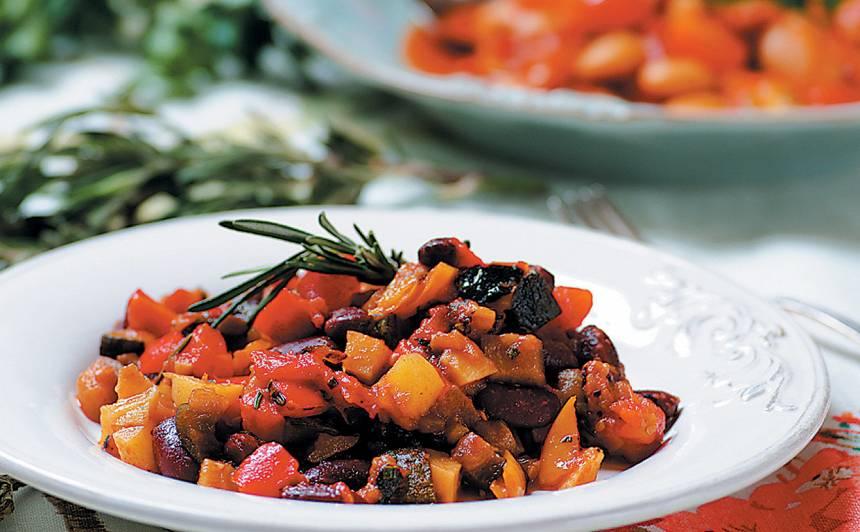 Vidusjūras dārzeņu sautējums recepte