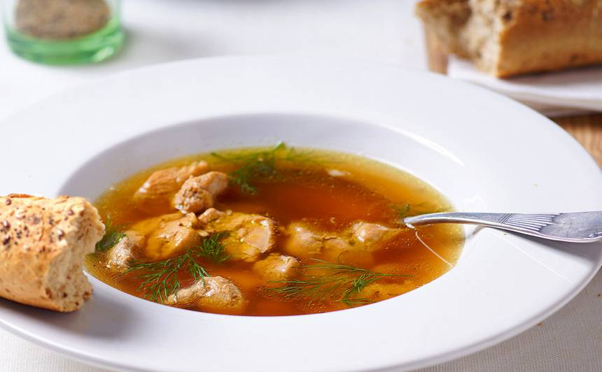 Vistas buljona zupa