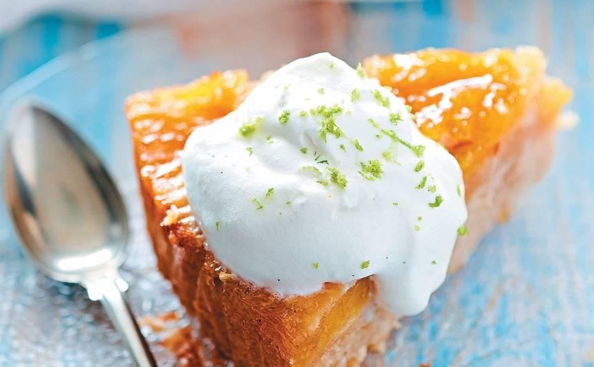 Apgāztā ananasu kūka recepte