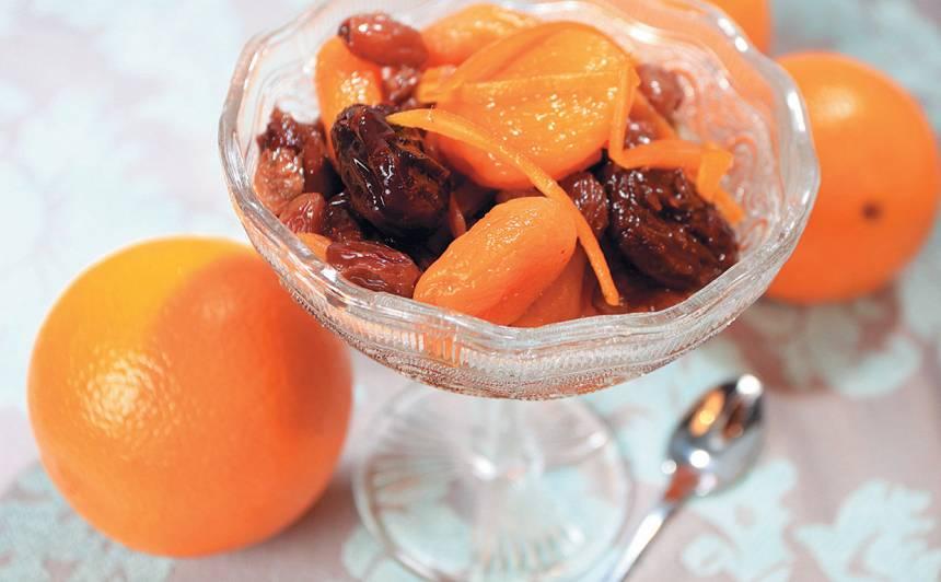 Žāvētu augļu kompots recepte