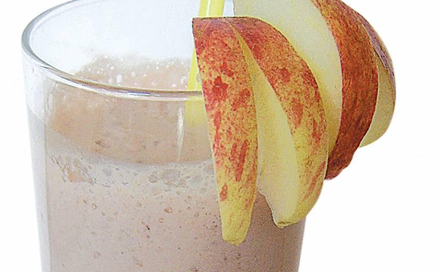 Banānu un dzērveņu sulas kokteilis recepte
