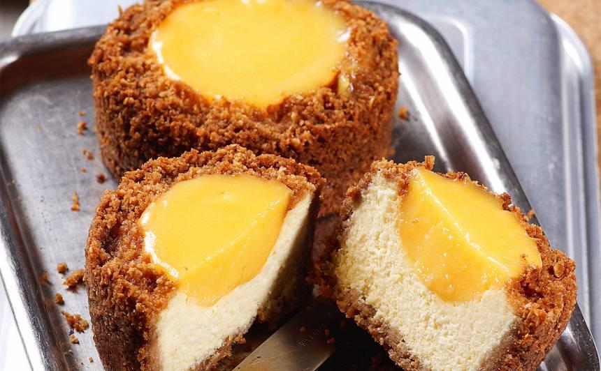 Biezpiena kūkas ar citronu krēmu receptes