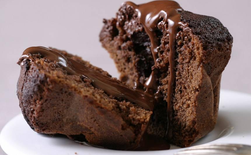 Šokolādes kēksiņi ar skābo krējumu