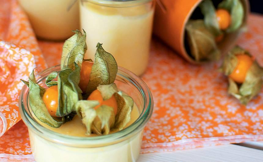 Apelsīnu pudiņš recepte
