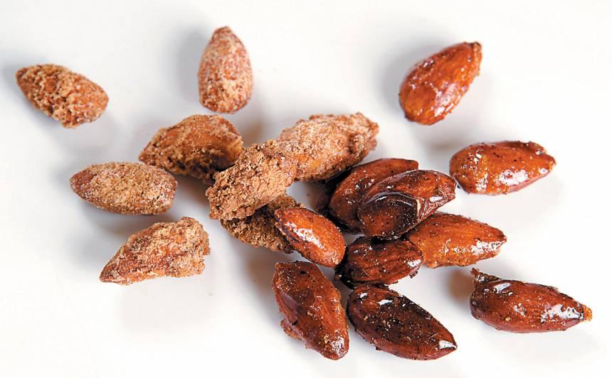 Karamelizētas mandeles