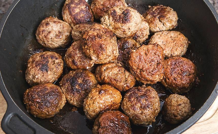 Medījuma gaļas kotletes recepte